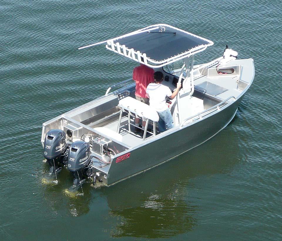 T-Top Aluminum Boats Recreational